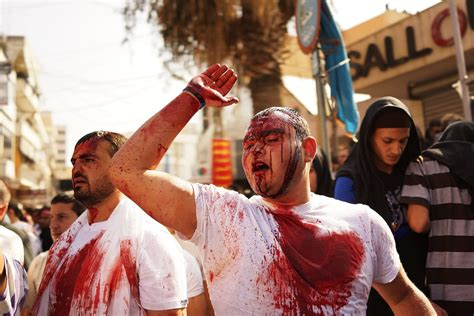 Ashura Festival Of Flagellation Shows The Extremes Of