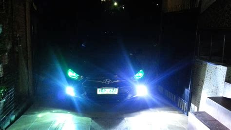 Hyundai Accent 2011 8000k HID fog lights/ all weather