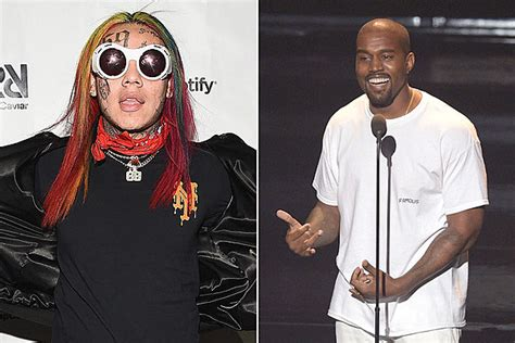 6ix9ine Claims He's Featured on Kanye West's Album - XXL