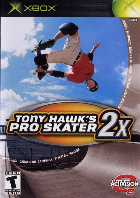 Tony Hawk's Pro Skater 2x for Xbox (2001) - MobyGames