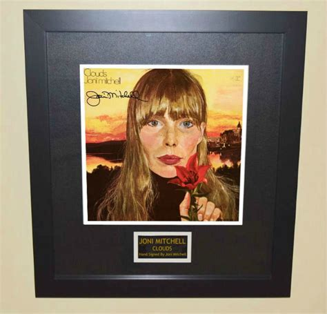 Joni Mitchell, Clouds, hand-signed collectibles, rock star