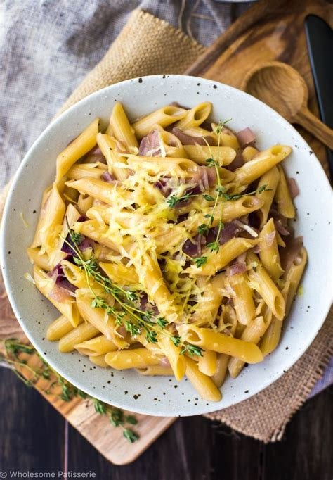 One Pot French Onion Pasta - Wholesome Patisserie