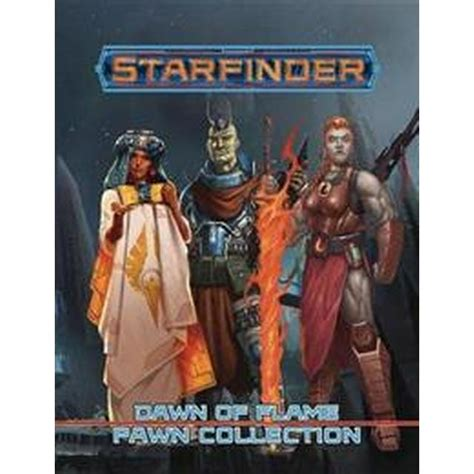 Starfinder Pawns: Dawn of Flame Pawn Collection • Compare