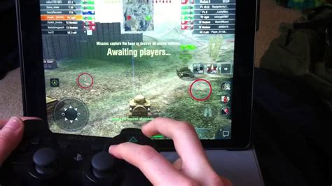 How to play World of Tanks Blitz using a controller - YouTube