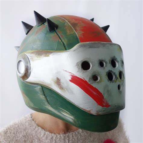 Rust Lord helmet from Fortnite, costumes from Destiny
