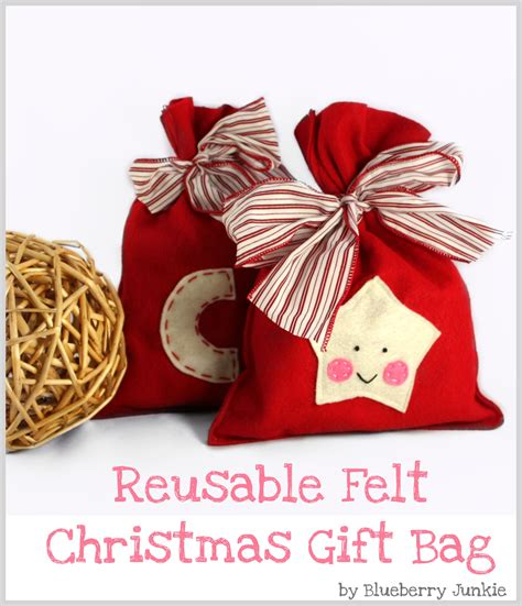 Felt Christmas Gift Bag – Sewing Projects   BurdaStyle