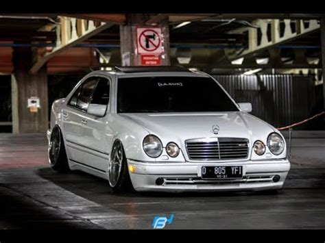 Tuning Mercedes Benz W210 E320 Stance Works - YouTube