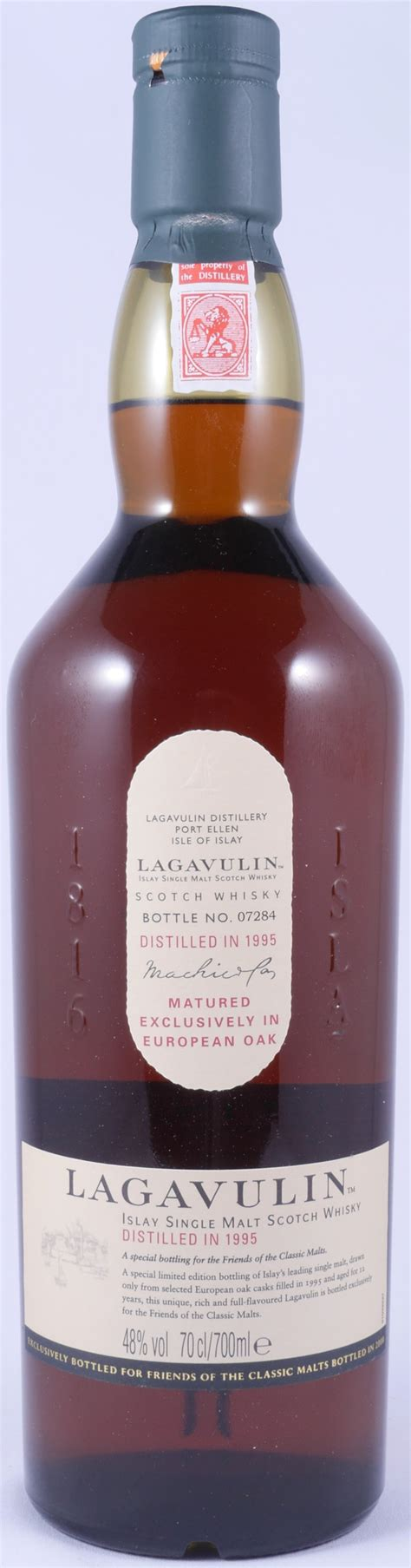 Lagavulin 1995 12 Years FOCM Special Release 2008 Limited