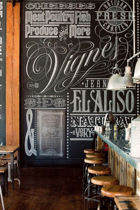 22 Awesome Chalkboard Typography Arts | Web & Graphic
