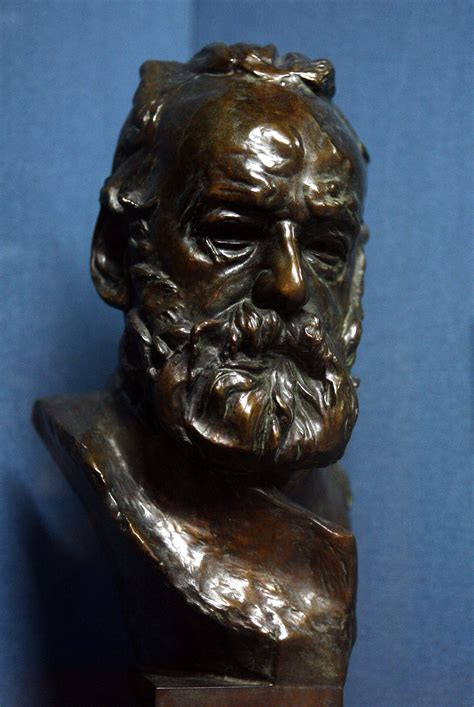 Bust of Victor Hugo - Auguste Rodin - WikiArt
