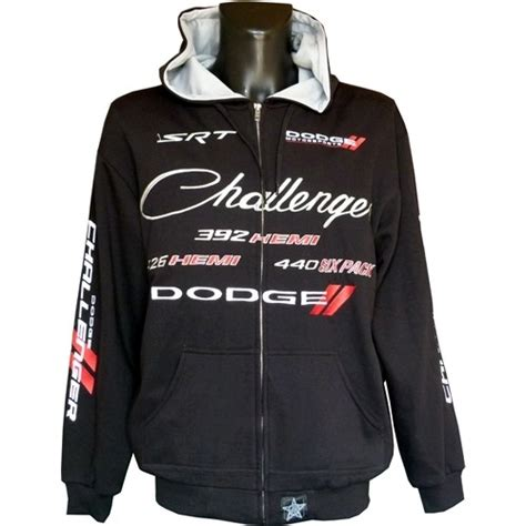 Dodge Challenger Hoodie - US-car- and NASCAR- fashion