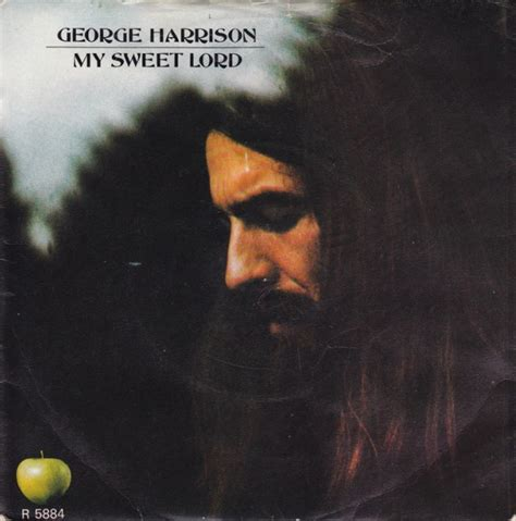 George Harrison - My Sweet Lord (1971, Picture Sleeve
