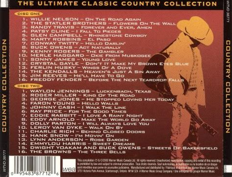 The Ultimate Classic Country Collection - Various Artists