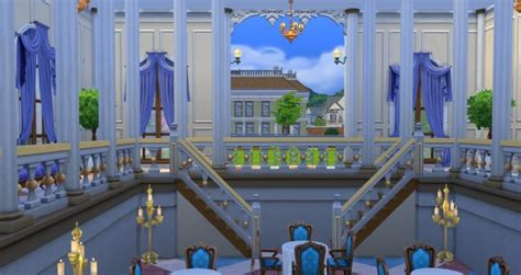 Mod The Sims: Journey to Orlais: Winter Palace Ballroom by