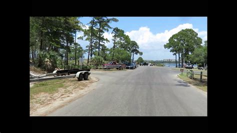 St Andrews State Park Campground May 24 2015 - YouTube