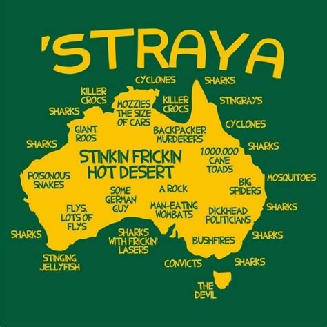 What are some interesting examples of Australian lingo or