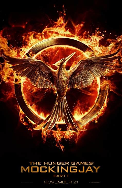 'Hunger Games: Mockingjay – Part 1': First movie poster