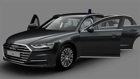 Audi A8 L Security Is An Armored Luxobarge With The S8's