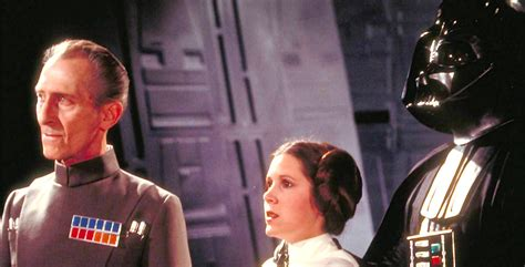 How Rogue One Recreated Peter Cushing, Carrie Fisher - See