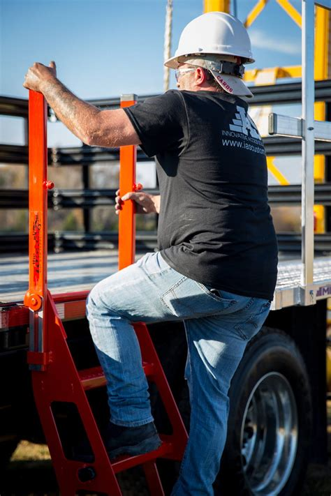 Trucker I Ladder | Flatbed Trailer | Fall Protection Safety