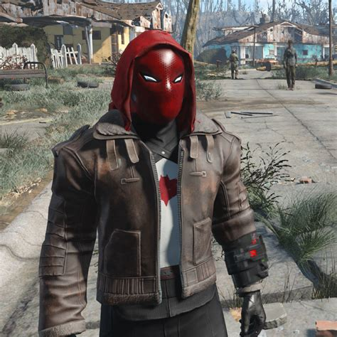 Red Hood Outfit at Fallout 4 Nexus - Mods and community