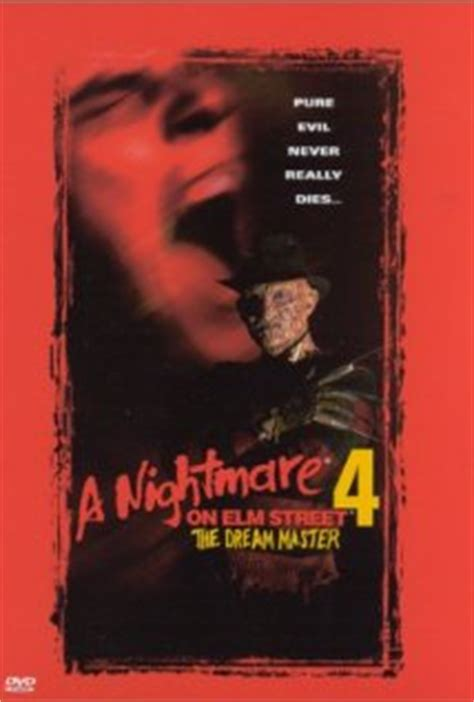 A Nightmare on Elm Street 4: The Dream Master DVD Release Date