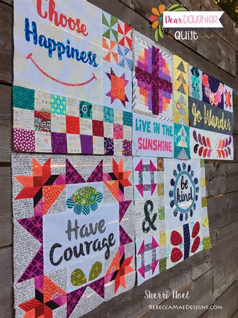 Dear Daughter Block of the Month Quilt / Patterns by