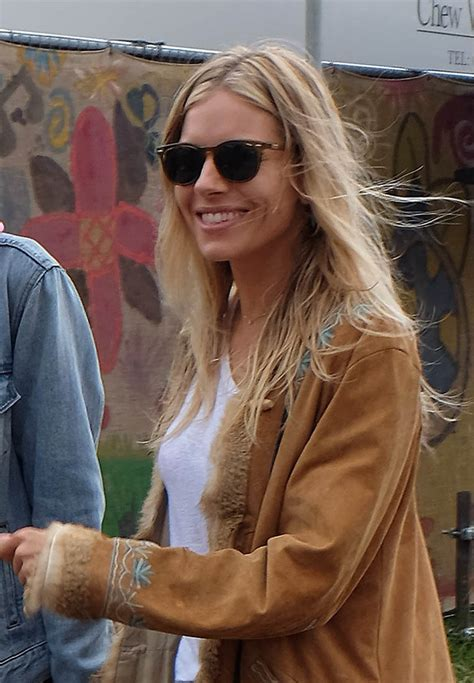 Brad Pitt and Sienna Miller spotted together at Glastonbury