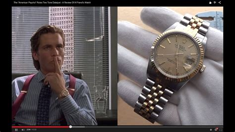 """The """"American Psycho"""" Rolex Two Tone 16013 Datejust - A"""