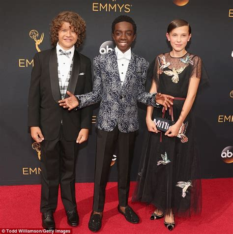 The Stranger Things kids take over 2016 Emmy Awards with