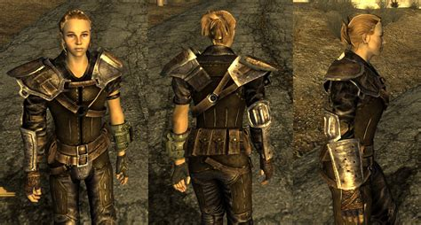 Reinforced Leather Armor Retexture at Fallout New Vegas