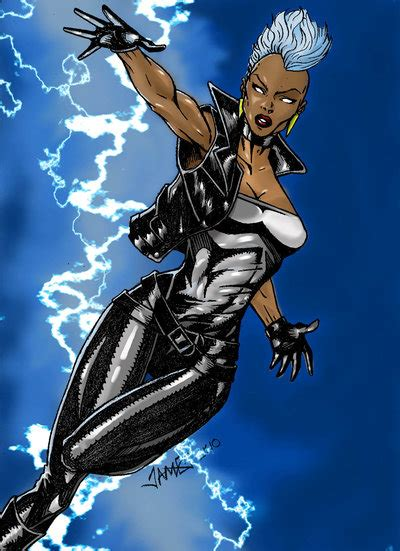 Storm From The X-Men Is Confused About Hurricane Sandy