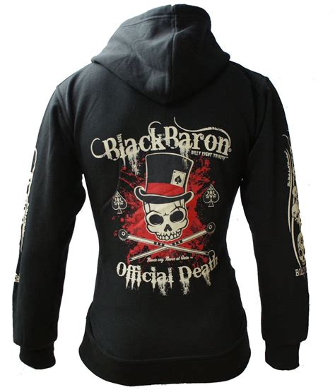 Billy Eight - OFFICIAL DEATH - Mens Hoodie - Black