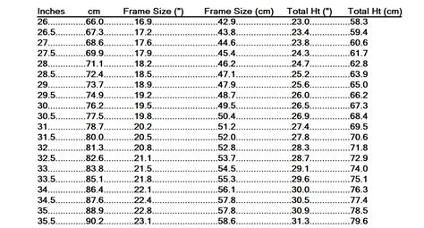 My World From a Bicycle: Lemond's Sizing Chart and Hamley