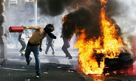 Peaceful Protest Dissolves into Riots in Rome   ITALY Magazine