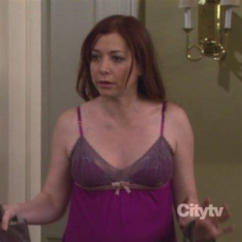WornOnTV: Lily's magenta negligee from How I Met Your