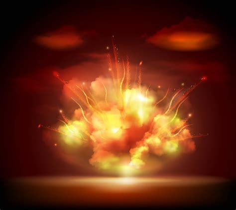 Night explosion background banner - Download Free Vectors