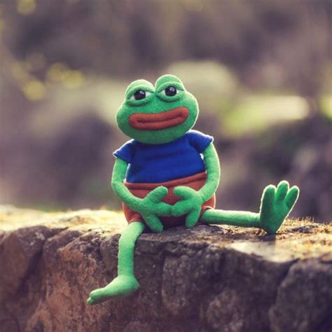 Toys / Games :: Pepe The Frog Plush - Shut Up And Take My