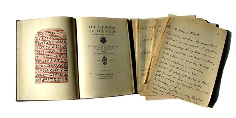Aleister Crowley Equinox of the Gods Vol