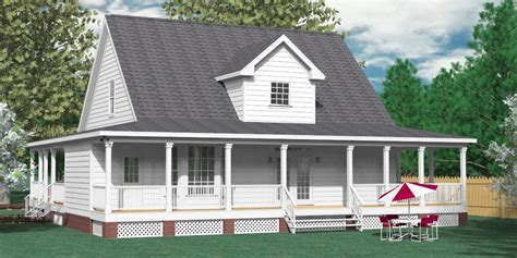 Southern Heritage Home Designs - House Plan 2051-A The