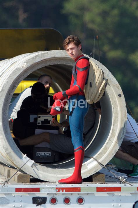 """""""Spider-Man: Homecoming"""" Behind The Scenes Pics   Know It"""