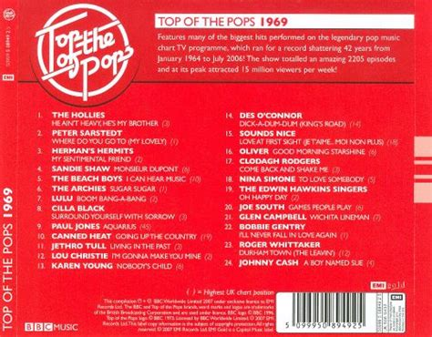 Top Of The Pops 1969 - Various Artists | Songs, Reviews