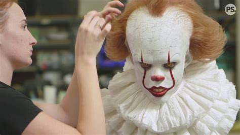 Go Inside the Making of It's Pennywise Clown - YouTube