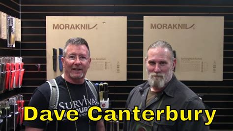 Mora Garberg Carbon Steel with Dave Canterbury - YouTube