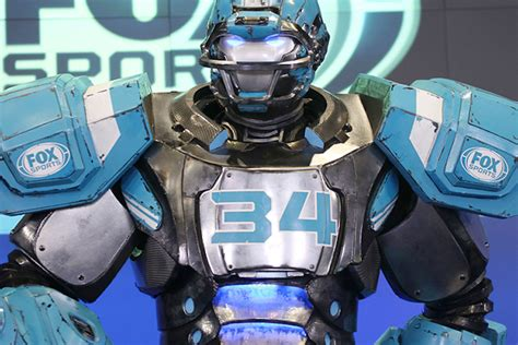 What's the deal with that NFL robot on Fox? – ScoreBoredSports
