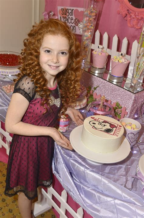 Francesca Capaldi, The Little Red-Haired Girl of Upcoming