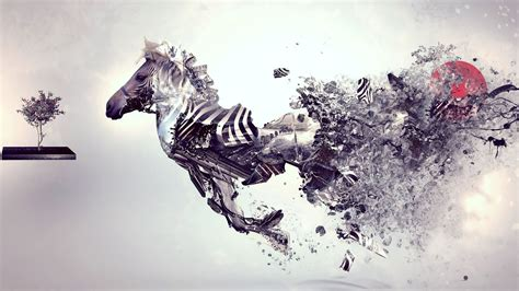 abstract, Zebras, Animals Wallpapers HD / Desktop and