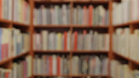 Background with Books and Shelves Stock Footage Video (100