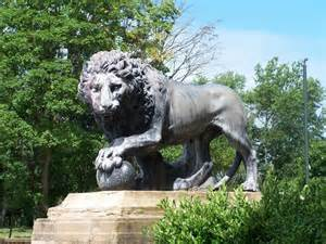 The other Lion, Stanley Park, Blackpool © Terry Robinson