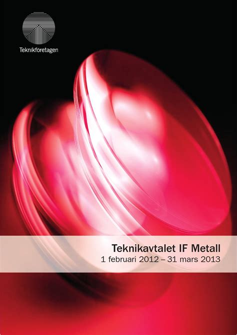 Teknikavtalet IF Metall by none none - issuu